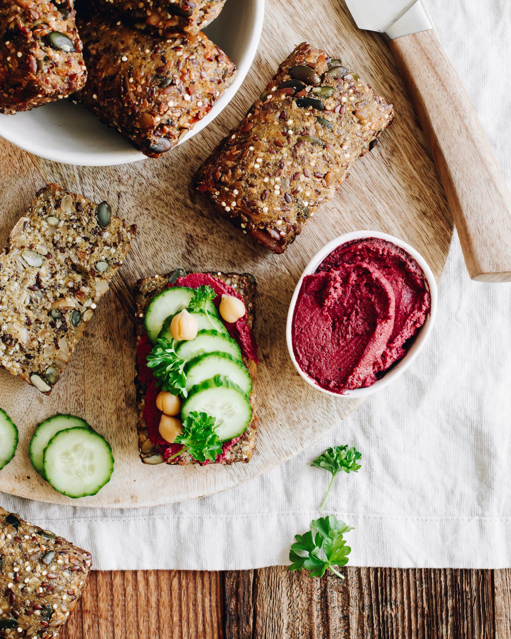 Food Fotografie Brötchen mit Serviervorschlag