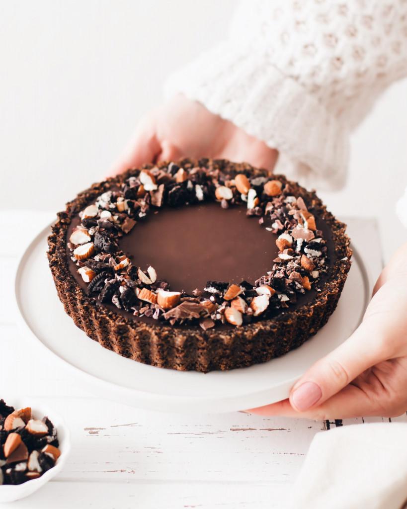 Food Fotografie Portfolio - Oreo Schokoladen Tarte