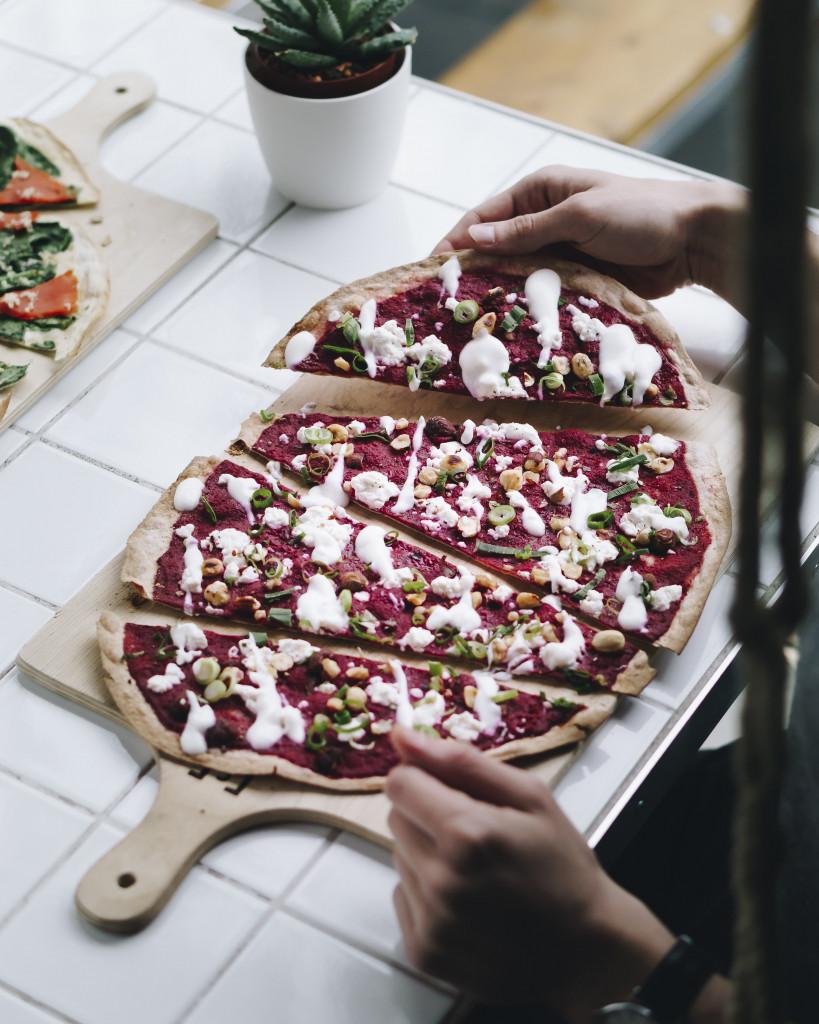 Food Fotografie Portfolie - Restaurantfotografie Flammkuchen